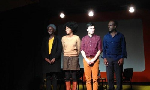 Annabelle Lengronne, Armelle Abibou, Geoffrey Dahm, Assane Timbo