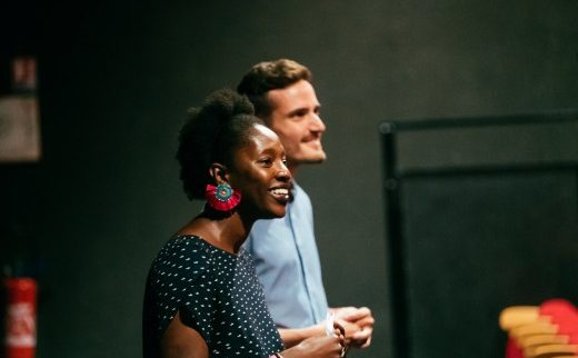 Penda Diouf et Anthony Thibault- crédit Baptiste Muzard