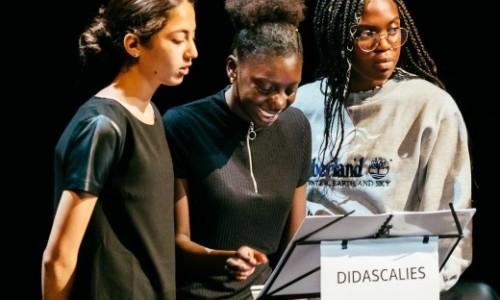 Tout Ca Pour Ca - Lecture - Transmission Artistique Texte de Gwendoline So Mise en Espace Pier Lamandé - crédit : Baptiste Muzard